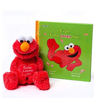 Elmo Loves You Gift Set