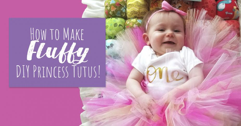 DIY: Super Puffy Tulle Tutus for Your Princess Birthday Party