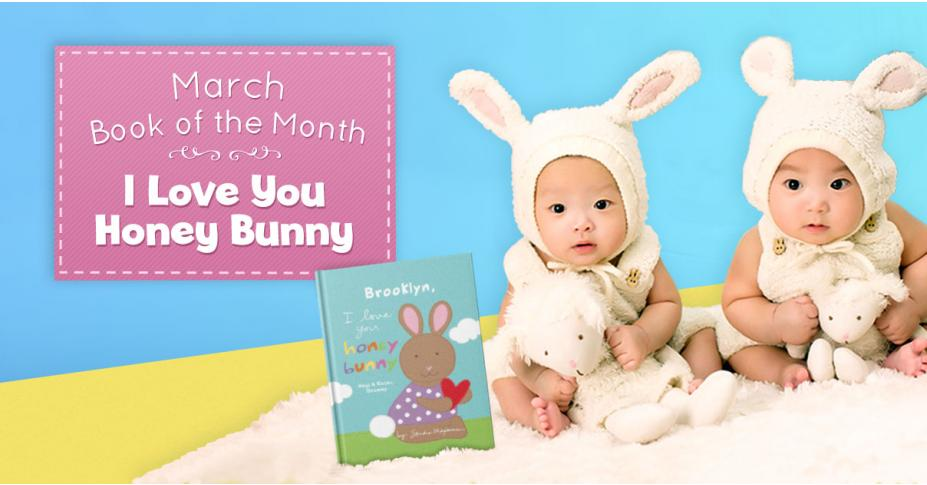 March Book of the Month: I Love You Honey Bunny!