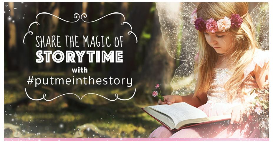 Share the Magic of Storytime with #putmeinthestory