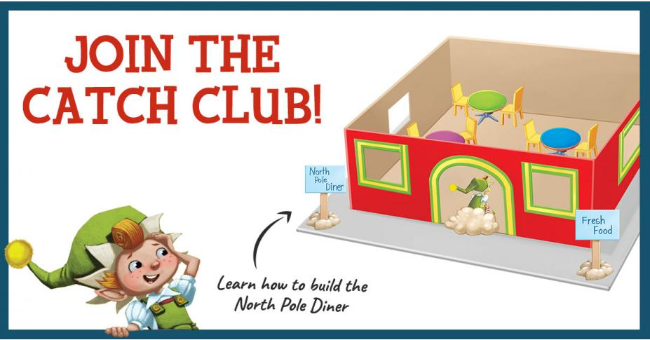 Build Your Own Elf Trap: The North Pole Diner