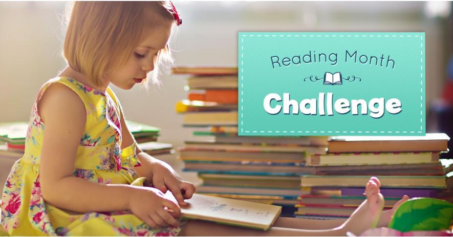 Reading Month Challenge - Free Checklist Download