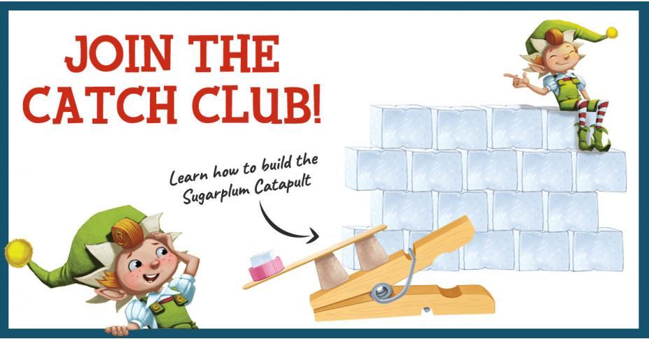 Build Your Own Elf Trap: The Sugarplum Catapult