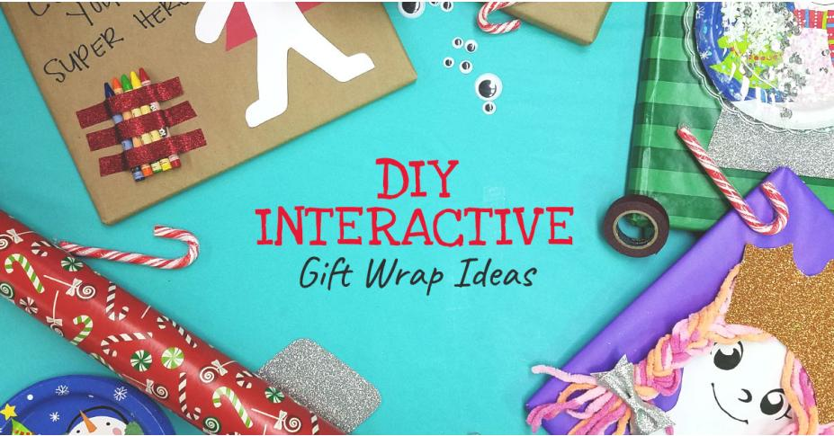 DIY Interactive Gift Wrap Ideas