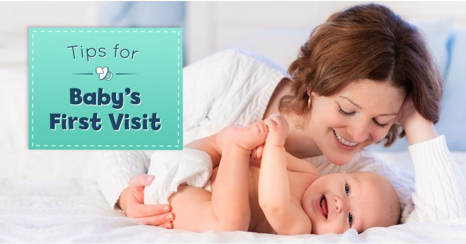 5 Tips for Baby's First Visit - With Downloadable Baby Guest Book Page!