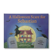 A Halloween Scare At My House Personalized Book