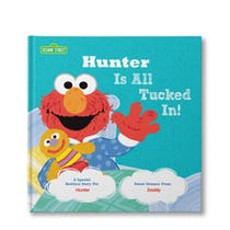 All Tucked In On Sesame Street Personalized Book