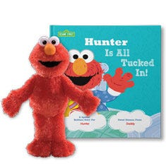 All Tucked In On Sesame Street Personalized Gift Set
