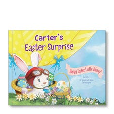 An Easter Surprise Paperback Personalized Paperback Book