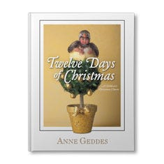 Anne Geddes Twelve Days of Christmas Personalized Book