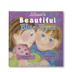 Beautiful Blue Eyes Personalized Book