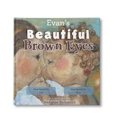 Beautiful Brown Eyes Personalized Book