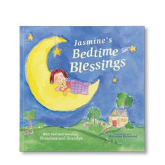 Bedtime Blessings Personalized Paperback Book