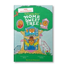 The Berenstain Bears Home Sweet Tree Personalized Book