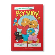 The Berenstain Bears' Pet Show Personalized Book