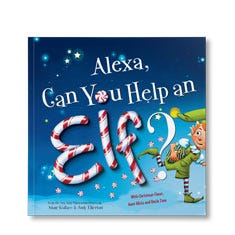 Can You Help an Elf Personalized Paperback Book
