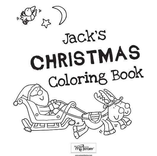 - Christmas Coloring Book Put Me In The Story