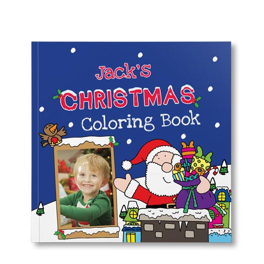 Christmas Coloring Book Put Me In The Story