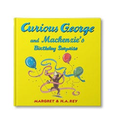 Curious George and the Birthday Surprise Personalized Book