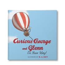 Curious George Curious You On Your Way Personalized Book