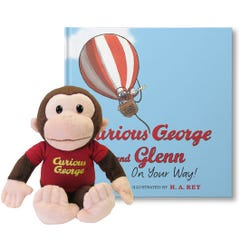 Curious George On Your Way Gift Set