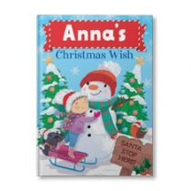 Your Christmas Wish Personalized Book