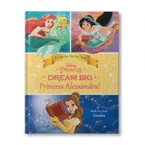 Disney's Dream Big, Princess: Belle's Special Edition Personalized Book