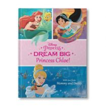 Dream Big, Princess Personalized Book