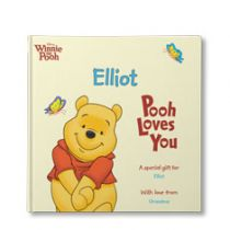 Disney's Pooh Loves You Personalized Book
