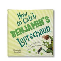 How to Catch Your Leprechaun Personalized Book