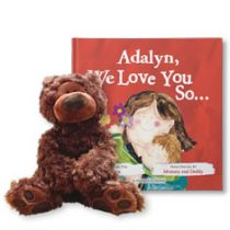 I Love You So Deluxe and Teddy Bear Gift Set