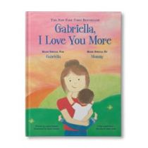 I Love You More Personalized Book