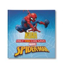 Marvel's Only You Can Save Spider-Man Personalized Book