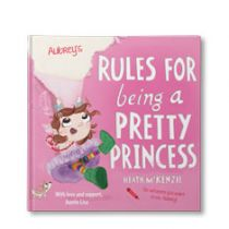 My Rules for Being a Pretty Princess Personalized Book