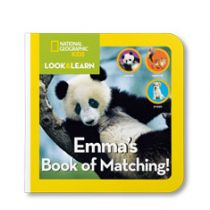 National Geographic: Your Book of Matching - Board Book Edition