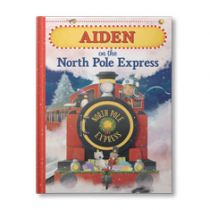 (Your Child) on the North Pole Express Personalized Book