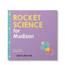 Rocket Science For Babies Personalized Book