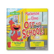 Sesame Street: Off To School Personalized Book