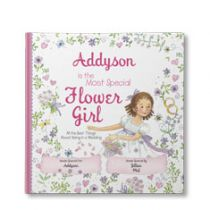 The Most Special Flower Girl Personalized Book