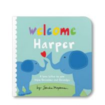 Welcome Little One Personalized Board Book