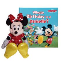 Disney's Mickey and Friends: Whose Birthday Is It? Minnie Mouse Gift Set