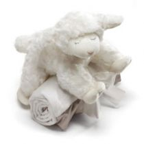Winky Lamb and Blanket Set