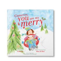 You are My Merry Personalized Paperback Book