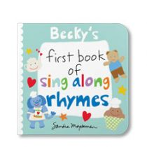 Your First Book of Sing Along Rhymes Personalized Board Books