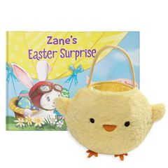 An Easter Surprise and Baby Chick Easter Basket Gift Set