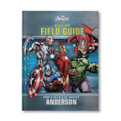 Marvel's The Avengers: Black Ops Field Guide Personalized Book