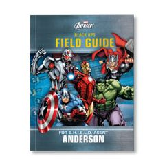 Marvel's The Avengers Black Ops Field Guide Personalized Paperback Book