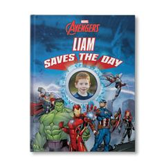 Marvel's The Avengers: Your Child Saves The Day Personalized Book