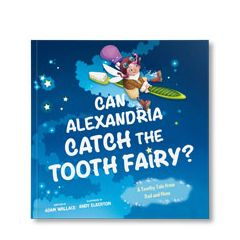 Can You Catch The Tooth Fairy Personalized Paperback Book
