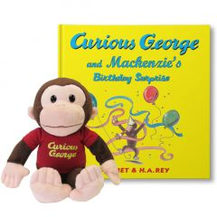 Curious George Birthday Surprise Gift Set